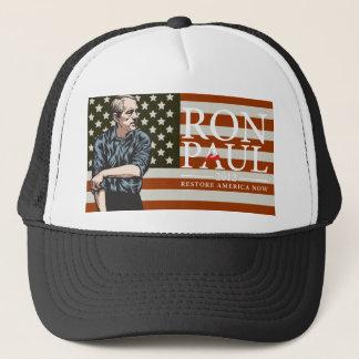 """Amerikanische Freiheit Ron Pauls """"gehend, zu Truckerkappe"""