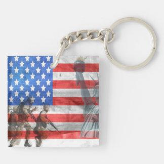 Amerikanische Freiheit Schlüsselanhänger