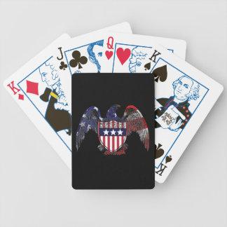 Amerikanische Freiheits-Spielkarten präsidential Spielkarten