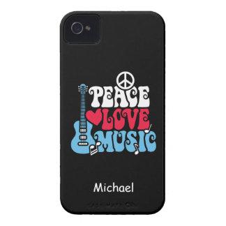 Amerikanische FriedensLiebe-Musik iPhone 4 Hülle
