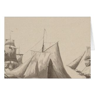 Amerikanische Geschichte - Segeln von Halifax Karte
