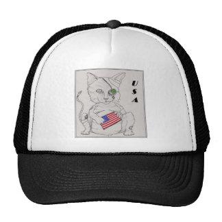 Amerikanische Katze Kappe