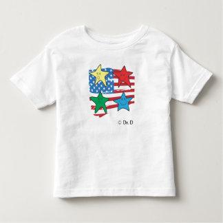 amerikanische Kinderart Kleinkinder T-shirt