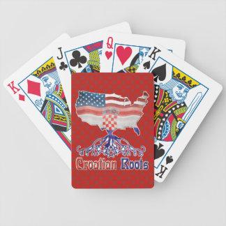 Amerikanische kroatische Wurzel-Spielkarten Bicycle Spielkarten