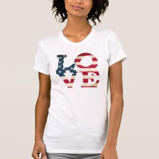 Amerikanische Liebe T-Shirt