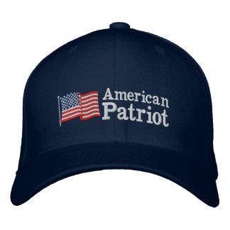 Amerikanische Patriot-Flagge B Bestickte Baseballcaps
