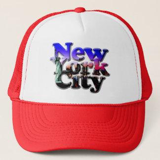 Amerikanische Patriot-Reihe NEW YORK CITY Truckerkappe