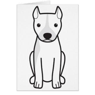 Amerikanische Pitbull Terrier (geerntete Ohren) Karte