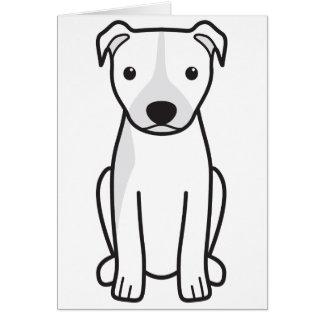 Amerikanische Pitbull Terrier (natürliche Ohren) Karte