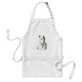 Amerikanische Pitbull Terrier Schürze