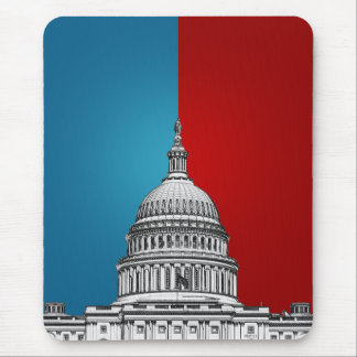 Amerikanische Politik Mousepad