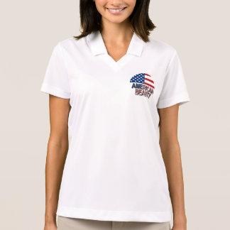 Amerikanische Schönheit Polo Shirt