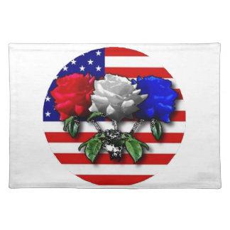 Amerikanische Schönheiten Tischset
