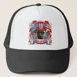 Amerikanische Stolz-Bulldogge Truckerkappe