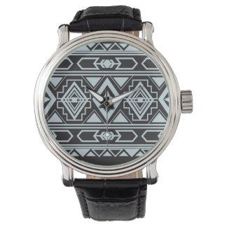 Amerikanische traditionelle Verzierung des Uhr