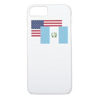 Amerikanische und guatemaltekische Flagge iPhone 8/7 Hülle