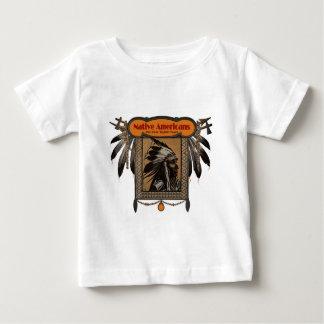 AMERIKANISCHE UREINWOHNER für über 10.000 Jahre Baby T-shirt