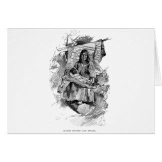 Amerikanische Ureinwohner Karte