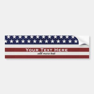Amerikanische USA-Flaggen-patriotische am 4. Juli Autoaufkleber