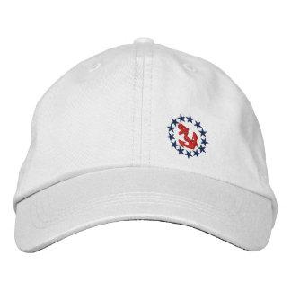 Amerikanische Yacht-Flaggen-Fahne-Seestickerei Bestickte Caps