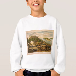 Amerikanische zivile Kriegs-Belagerung von Sweatshirt