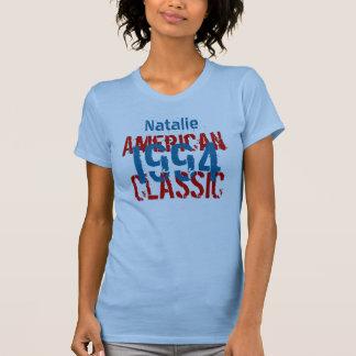 Amerikanischer 21. Geburtstags-blaues Rot v2 des K T-Shirts