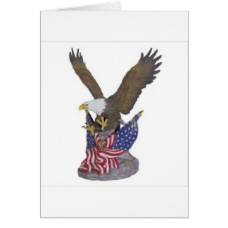 amerikanischer Adler Grußkarte