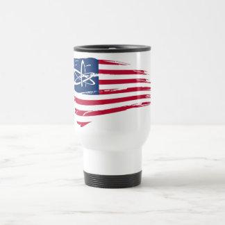 Amerikanischer Atheist Tee Tassen