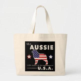 Amerikanischer Australier Jumbo Stoffbeutel