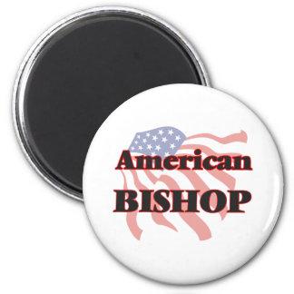 Amerikanischer Bischof Runder Magnet 5,7 Cm