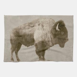Amerikanischer Bison Handtuch