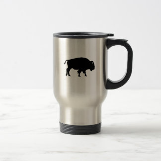Amerikanischer Bison-Ikone Reisebecher