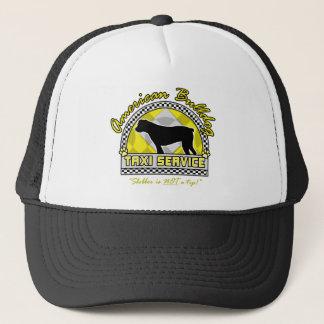 Amerikanischer Bulldoggen-Taxi-Service Truckerkappe