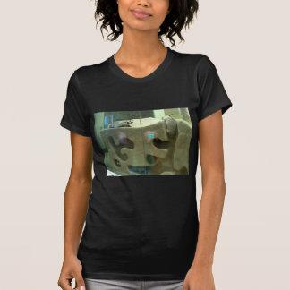 Amerikanischer Dachs interessiert sich T-Shirt