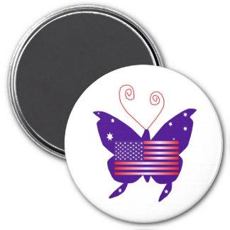 Amerikanischer Diva-Schmetterling Magnete