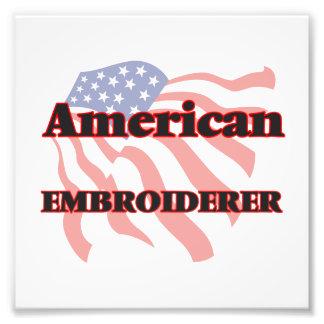 Amerikanischer Embroiderer Kunstfotos