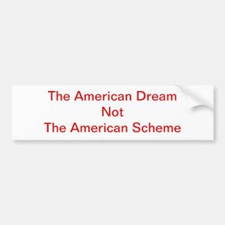 Amerikanischer Entwurf-Autoaufkleber Autoaufkleber