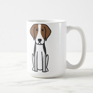 Amerikanischer Foxhound-HundeCartoon Kaffeetasse