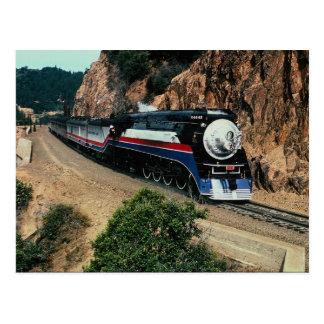 Amerikanischer Freiheits-Zug 4449 bei Kap Hoorn, Postkarte