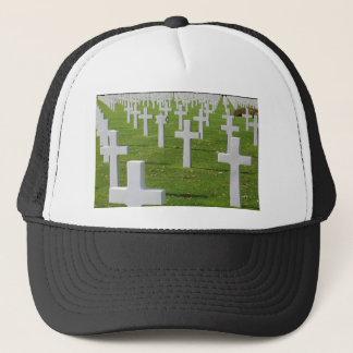 Amerikanischer Friedhof bei Normandie Truckerkappe