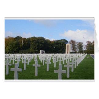 Amerikanischer Friedhof Luxemburg Karte