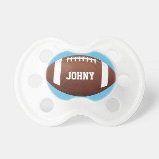 Amerikanischer Fußball-Baby-Jungen-individueller Schnuller