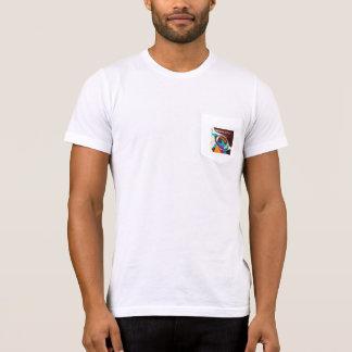 Amerikanischer Fußball-Sport-Ball abstrakt T-Shirt