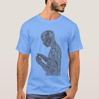 Amerikanischer Gebets-T - Shirt (Babyblau)
