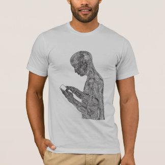Amerikanischer Gebets-T - Shirt (Silber)