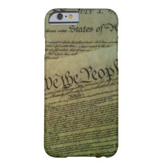 Amerikanischer Geschichtsfall Barely There iPhone 6 Hülle