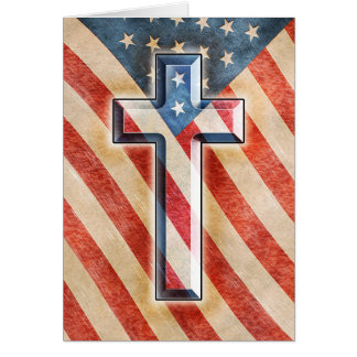 Amerikanischer Glaube Karte