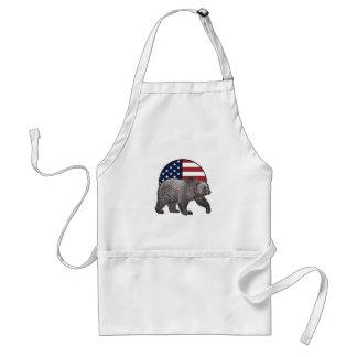 Amerikanischer Graubär Schürze