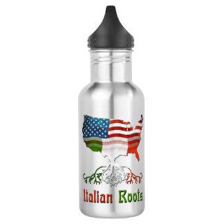 Amerikanischer Italiener wurzelt Wasser-Flasche Trinkflasche