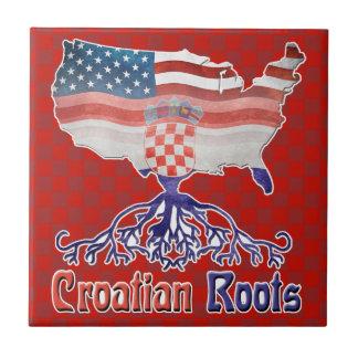 Amerikanischer Kroate wurzelt Keramik-Fliese Keramikfliese